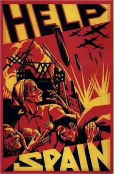 Help Spain. 1937 by kitchener.lord, via Flickr