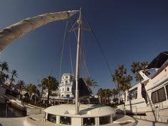 24 de Mayo - ¡Que buen día de navegación! Sol, mar azul profundo y poniente juguetón