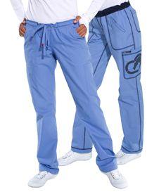 New Ecko Women's Bronx Reversible Scrub Pants Nursing Uniform Cargo Multipockets $27.99