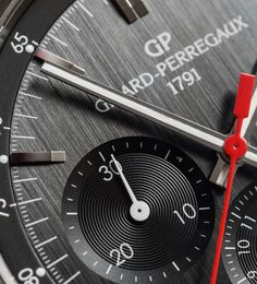 "Girard-Perregaux Competizione Stradale Chronograph Watch Review - by David Bredan - See more awesome shots now at: aBlogtoWatch.com - ""There is something uniquely special about a nicely executed, simple chronograph. At a time, when everything has to be explained, scrutinized and analyzed, every once in a while, it just feels sweet to be able to lean back and enjoy the perks of a job done well. Once you cut the whole '70s vintage-inspired' malarkey..."""