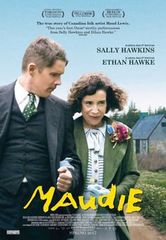 Sally Hawkins should get a oscar nomination for this performance.  She is wonderful and Ethan Hawke is also good.  This film is based on a true story.