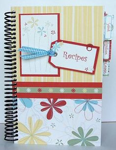 DIY Cook Book...I did one similar for my sister's bridal shower w/ family and friend's recipes.  Thought of you @Bonnie Peele :)