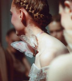 valentino haute couture s/s 2011, frida gustavsson backstage by schohaja
