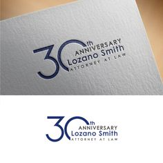 Design a conservative but edgy 30th Anniversary logo for public agency law firm by jenab