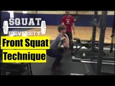 How To Perfect The Front Squat – Squat University