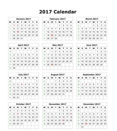 Calendar October 2017 South Africa