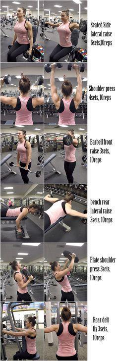 5 Weeks To Get Fit Challenge Day-5 Shoulders