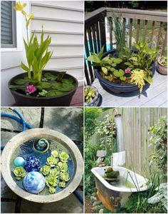 mini gartenteich bauen kleine oasen im garten oder auf dem balkon gartenteich bauen der. Black Bedroom Furniture Sets. Home Design Ideas