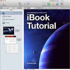 How To Make an eBook with iBooks Author Tutorial | Ray Wenderlich, this should be used so students can create powerful end products and presentations