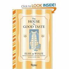 Elsie De Wolfe The House in Good Taste