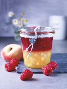 Recepty na originální domácí džemy a marmelády – tvFiesta Healthy Eating Tips, Healthy Nutrition, Marmalade Jam, Vegetable Drinks, Food Menu, No Cook Meals, Cookie Recipes, Food And Drink, Peach