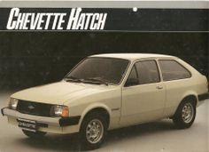 1986 Chevrolet Chevette Hatch Std. - Brasil