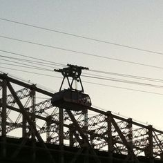 The Roosevelt island air tram! used to take this everyday to middle school!