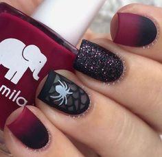 "21 Likes, 2 Comments - Nail Art / Makeup (@violett_blackk) on Instagram: ""#nails#nail#nailart#makeup#makeuptutorial#oje#makyaj#макияж#bilden#nagel#nagelkunst#trucco#chiodo#лак#маникюр#구성하다#네일#네일아트#化妆#钉#美甲#sexy#sexynails#classy#sassy#halloween#halloweennails#cool#trend"""