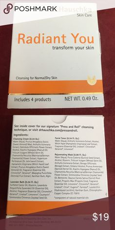 Dr. Hauschka Cleansing Skin Care 'Radiant You' New Dr. Hauschka Cleansing for Normal/ Dry Skin Care 'Radiant You' New Dr. Hauschka Makeup
