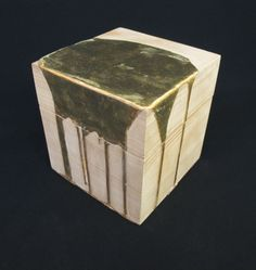 Nancy Lorenz  Gold Pour Box, 2010