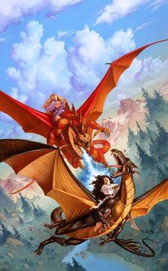 Token of Dragonsblood (Clyde Caldwell)