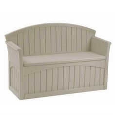 This Outdoor Patio Garden Bench with Storage Space Under Seat provides comfortable seating along with convenient storage. It is perfect for storing gardening supplies, patio accessories a. Patio Storage Bench, Patio Bench, Outdoor Storage, Outdoor Benches, Deck Patio, Garden Benches, Patio Roof, Patio Table, Garden Bench With Storage