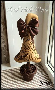 Кофейная Ёлочка - коричневый,ёлка,ёлочка,ёлки,елка,елочка,елки,елка новогодняя