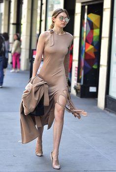 nude color dress!