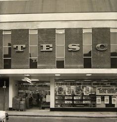 The original Tesco on the High Street, Stourbridge. It closed down in the early 1980's.