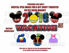 Printable Family Disney Vacation Mouse Head Shirt Transfer DIY Disney Shirts Matching Family Shirts Mouse Heads Mickey Ears clip art by FrostedMouseMemories on Etsy