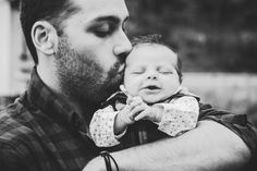 Delaney, Jake, + Baby Bentley | Fall 2017 Family + Newborn Session | NJ Pumpkin Patch Black + White | Father + Child | Photography