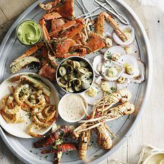 SHRIMP! LOBSTER! SCALLOPS! Here are 17 Healthy #Seafood Recipes so yummy they don't need butter! | health.com
