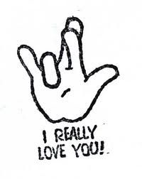 """This sign language is """"I really like you"""" in ASL, why this sign language like this because ASL alphabet I, R, L, Y which is mean I really love you but all together alphabet and this is how look this sign language. Sign Language Chart, Sign Language Phrases, Sign Language Alphabet, Learn Sign Language, American Sign Language, The Words, Learn To Sign, Asl Signs, Deaf Culture"""