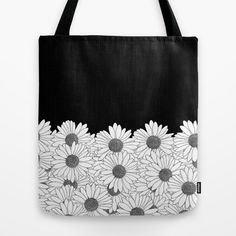 Daisy Boarder Tote Bag by Project M | Society6
