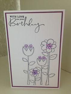 Randis hobbyverden: Happy birthday i lilla