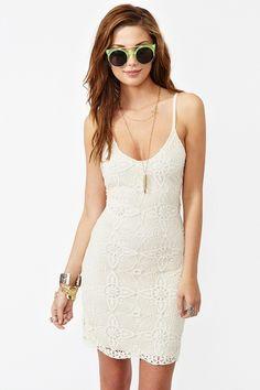 Lace Dress - Ivory