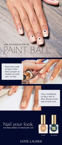How to get this amazing fall mani