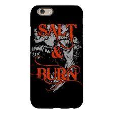 SUPERNATURAL SALT AND BURN iPhone 6 Tough Case for