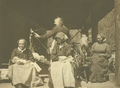These Appalachian women from the mountains of Kentucky knew the art of spinning and the art of friendship. Image from The Filson Historical Society Special Collections.