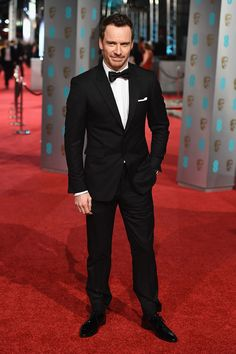 BAFTA 2016. Michael Fassbender in Burberry
