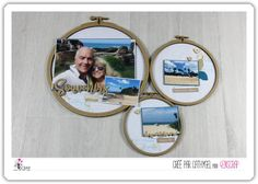 """Cathygel: Tampons & matrices de coupe (dies) #4enscrap """"Sous les tropiques"""" Home And Deco, Blog, Tampons, Beach, Embroidery Hoops, Baby Born, Luggage Bags, Wayfarer, Creative Crafts"""