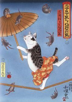 Horitomo - Monmon Cats