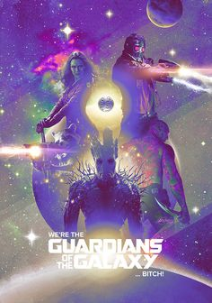 Guardians of the Galaxy by Laura Racero