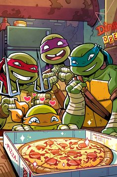 TMNT New Animated Adventures #14 RI - Paulina Ganucheau