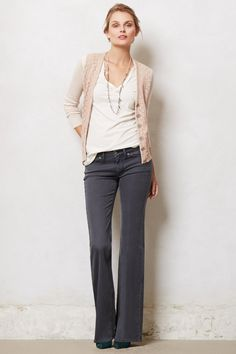 MiH Cape Easy Bell Jeans - anthropologie.com