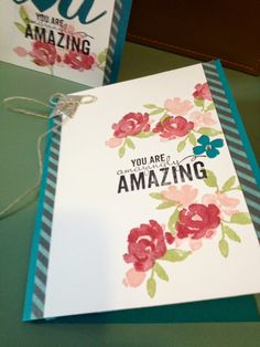 roses in my heart: Painted Petals - You Are Amazingly Amazing Cards