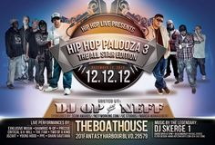 Hip Hop Palooza at The Boathouse Dec. 12