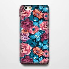 Abstract Floral iPhone 6 Case/Plus/5S/5C/5/4S Case #254