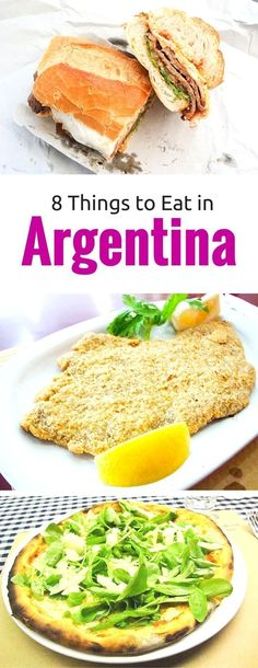 8 Things to Eat in Argentina ~ If you're heading to Argentina bring this list of traditional Argentine food to try. Find out the best Argentinean dishes and others which may disappoint.
