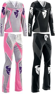 Thor motocross pajamas, i actually really like these! Im thinking great Christmas present for my daughter. Thor Motocross, Motocross Love, Dirt Bike Gear, Dirt Bikes, Riding Gear, Biker Chick, Look Cool, Swagg, Country Girls