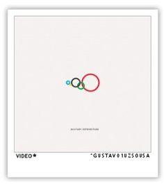 Gli anelli olimpici secondo Gustavo Souza
