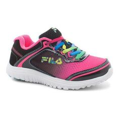 Pep up your little one's style with the Fila Aurora Training Shoe. This shoe…
