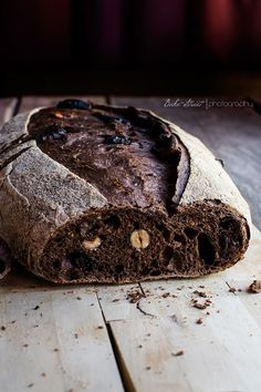 Chocolate and Black Beer Bread Beer Bread, Pan Bread, Bread Baking, Chocolate Beer, Chocolate Hazelnut, Blackberry Syrup, Pan Dulce, Fresh Bread, Sourdough Bread