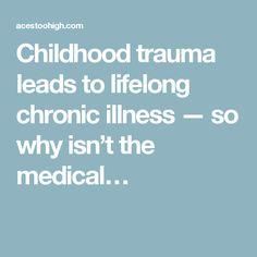 Childhood trauma lea